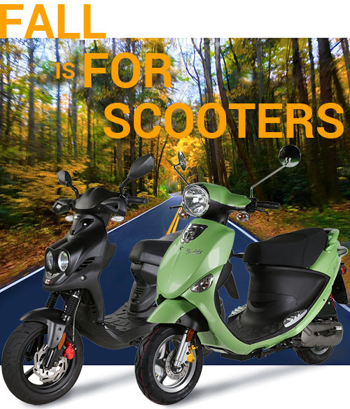 Fall is For Scooters